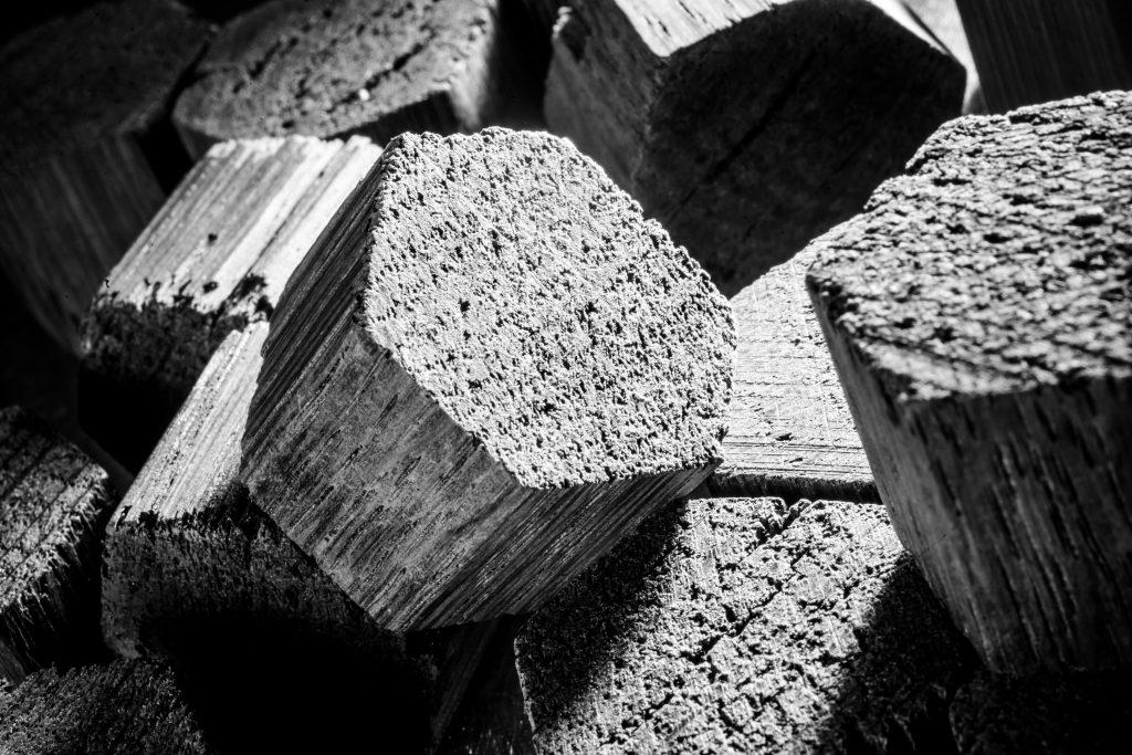 Cubes chêne - Oak cubes